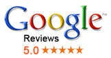 Customers reviewing our MK locksmith service on Google.